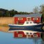 boat and red house_001