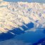 Snow covered peaks and glaciers in Prince William Sound, Alaska