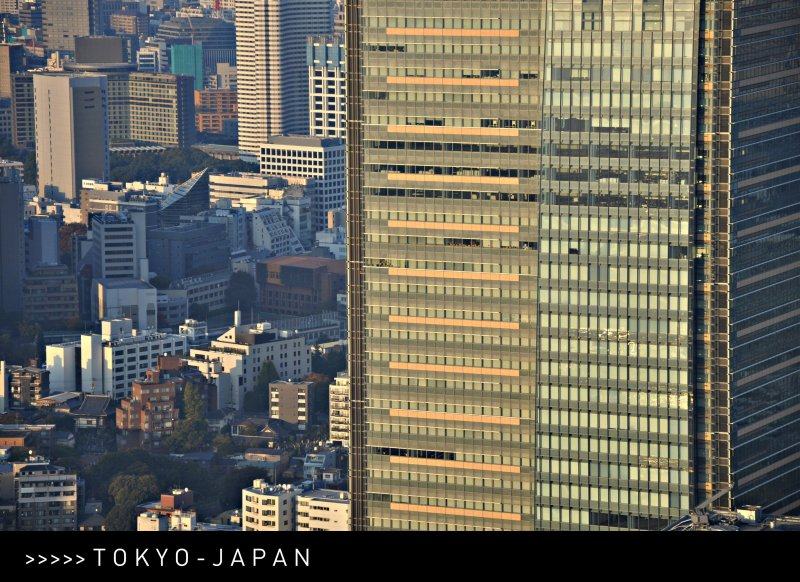 [ ZOOM ] From the Mori Tower - 52nd Floor - Roppongi Hills, Tokyo, Japan