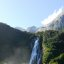 The fall of Milford Sound(New Zealand)