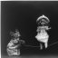 Playtime, Cats in Human Situation, Playing Jump Rope with a Vintage Victorian Doll