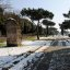 Schnee in Rom 4 - Via Appia Antica 5