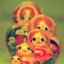 Cute Children's Pink Russian Nesting Dolls