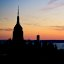 Sunset over Empire State