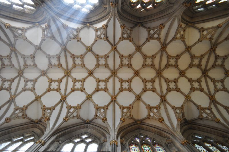 wells cathedral, choir vaults