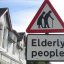 Elderly People Street Sign