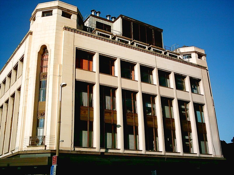 Art Deco Building.1930s.Preston,Lancashire.