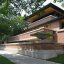 Robie House designed by Frank Lloyd Wright 1909