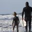 Father and son surf lesson in Morro Bay, CA 12 of 12