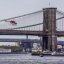 Staten Island Ferry - Helicopter and Brooklyn Bridge