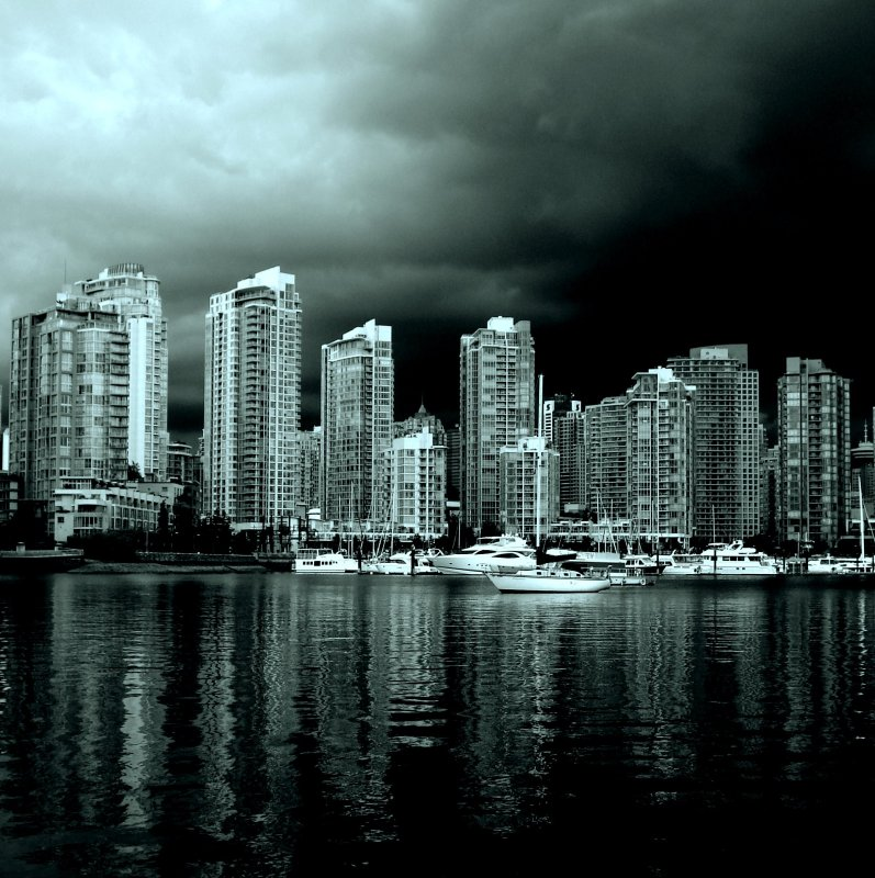 vancouver from false creek