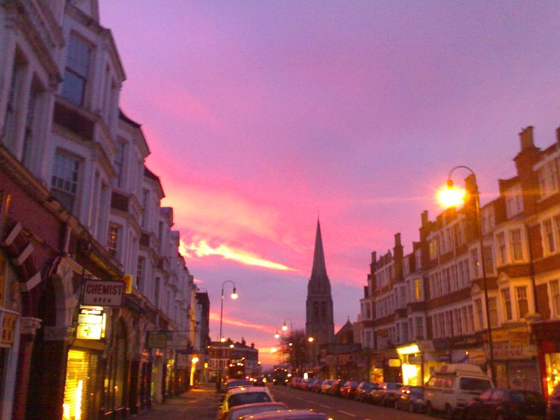 Muswell Hill at dawn