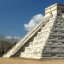 My favorite shot of El Castillo, the Pyramid of Kukulcan, at Chichen Itza