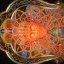 Cosmic Christ at Alex Grey's Chapel of Sacred Mirrors