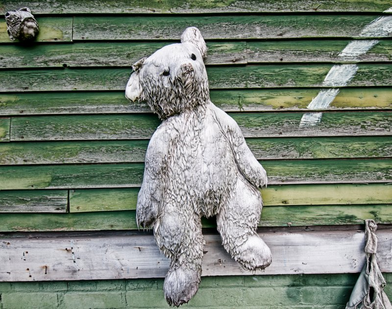 Deroit Street Art - Heidelberg Project - Bear
