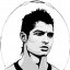Cristiano Ronaldo Vector Portrait