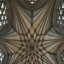 wells cathedral, vault of the lady chapel, completed 1326