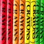 Colorful Crayon Rainbow