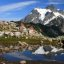 Mt. Shuksan reflected in a small tarn on the Artists Point trail