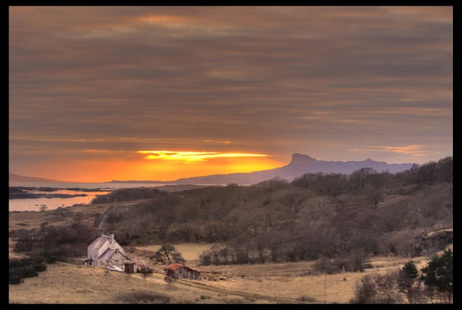 Arisaig sunset