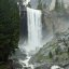 Classic shot of Vernal Falls in Yosemite National Park