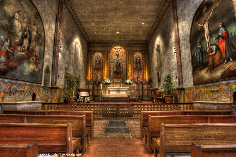 "Mission Santa Barbara also known as  ""Queen of the Missions for its graceful beauty."""