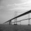 Bay Bridge B&W