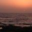 Setting Sun At Worli Sea Face