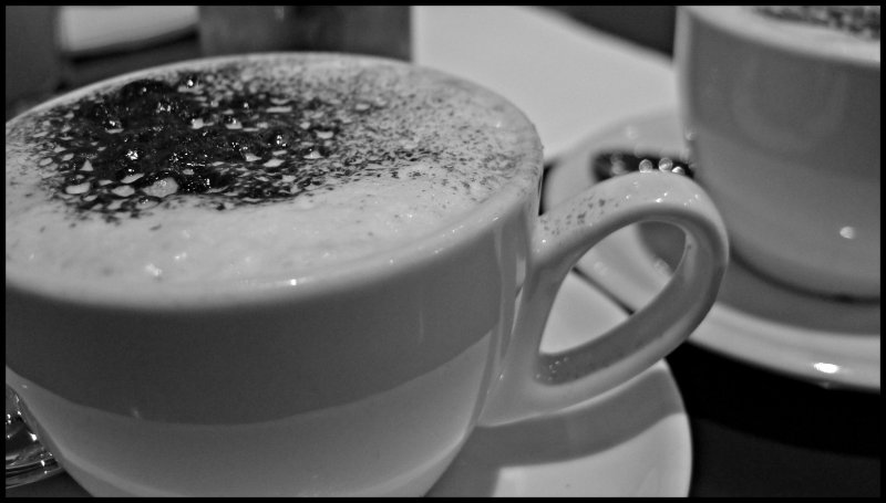 [ Who can RESIST The Pleasure? ] Cappuccino : MAO Cafe / Bar @ The Pavilion, Dun Laoghaire, County Dublin, Republic of Ireland