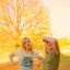 Funny Fall Teen Girls Free Creative Commons