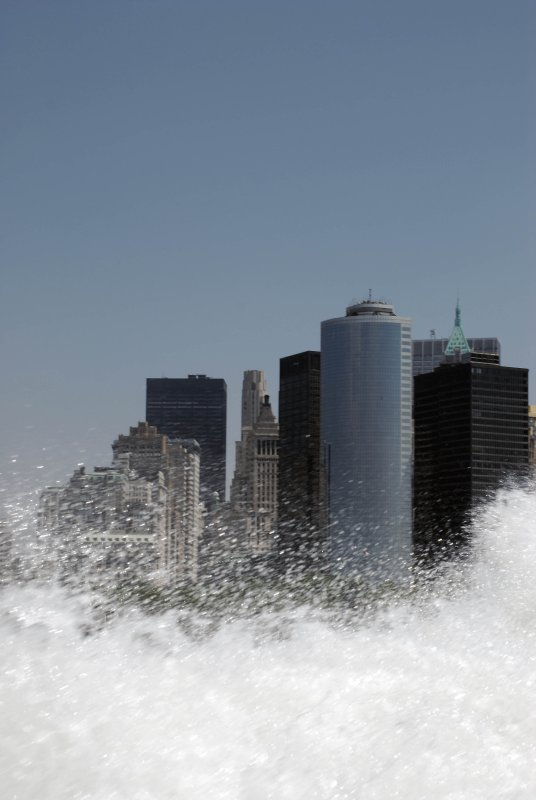 New York under the Wave!