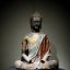 china - buddhism figure