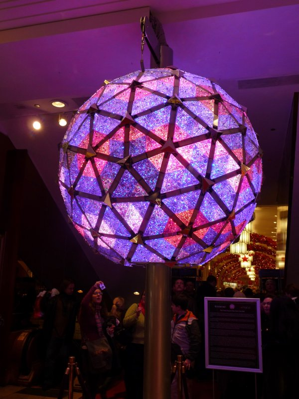 Times Square New Years Eve Ball