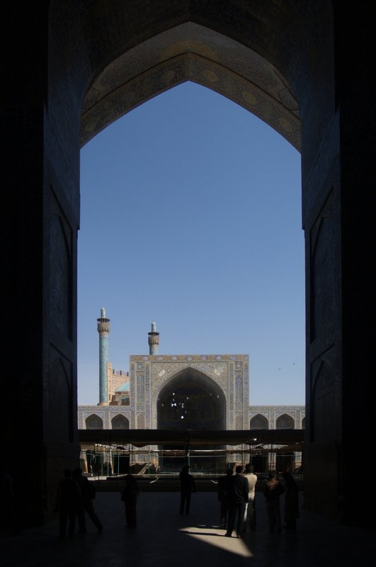 imam khomeini mosque, isfahan october 2007