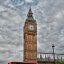 Big Ben and Bus (HDR)