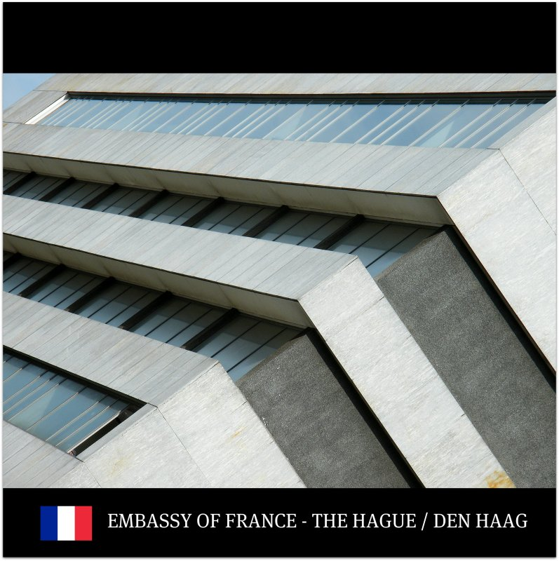 [1] World : Sense : THE EMBASSY OF FRANCE in The Hague / Den Haag, The Netherlands : Enjoy the lines and culture! :)