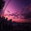 The love-colored Tokyo Sky