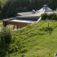 Brighton Earthship Roof View