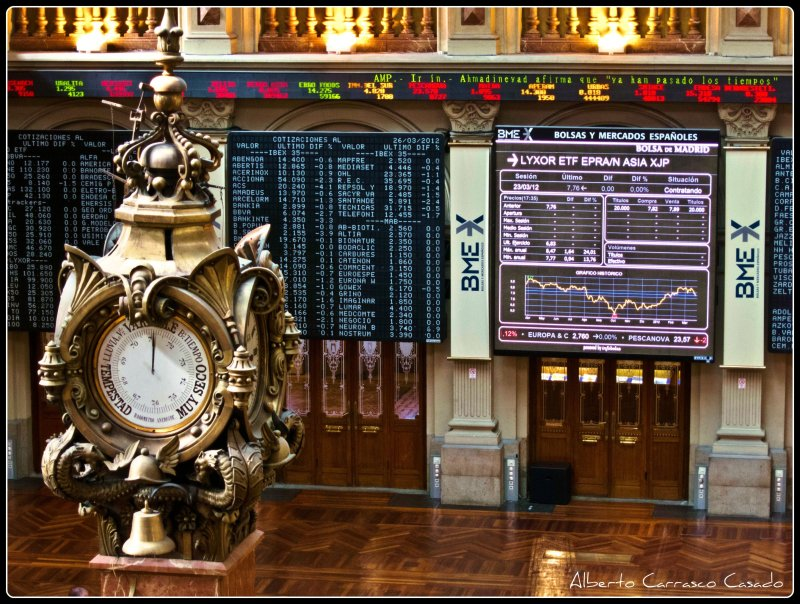 Madrid-Stock market (2012)