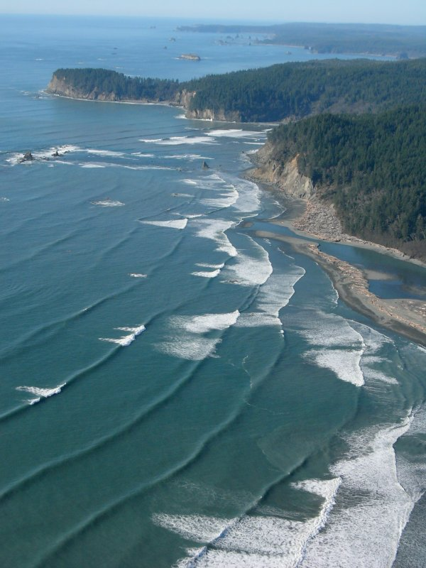 Hoh River mouth