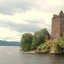 Urquhart Castle from Loch Ness Scotland