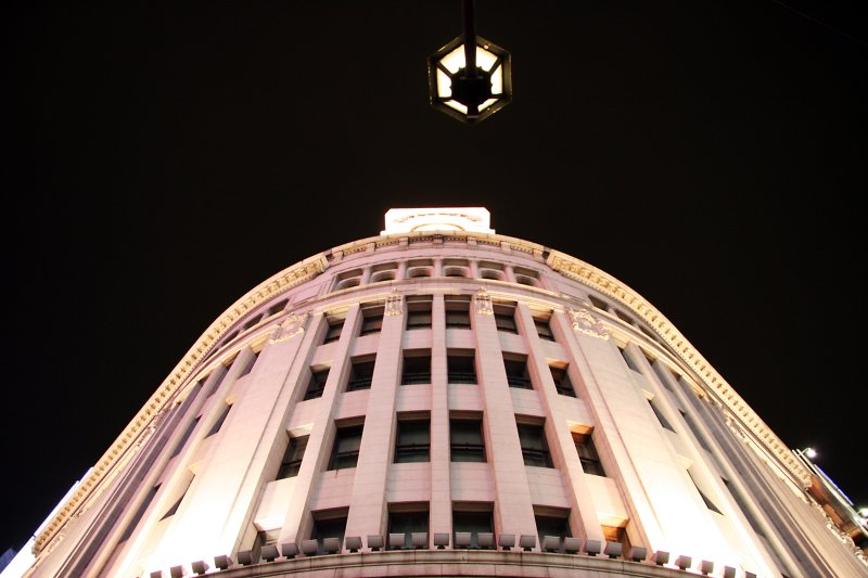 at the centre of the ginza