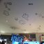 Asteroids on the ceiling!