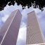 "New York City - World Trade Center & Marriott Hotel ""Photographed on 05/15/2001"""