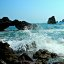 The wave at the little Arch, and friends, Mazatlan, Sinaloa, Mexico