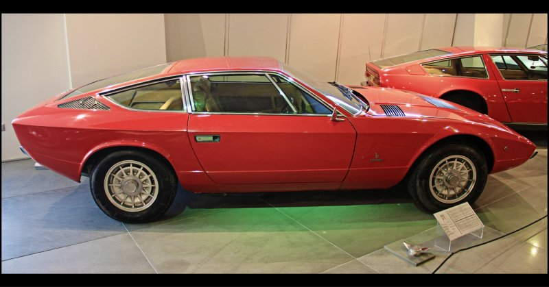 Maserati Khamsin // 1974 - 1982 Production run // 430 produced // @ The Hellenic Motor Museum // Athens // Greece // Enjoy the Beauty!