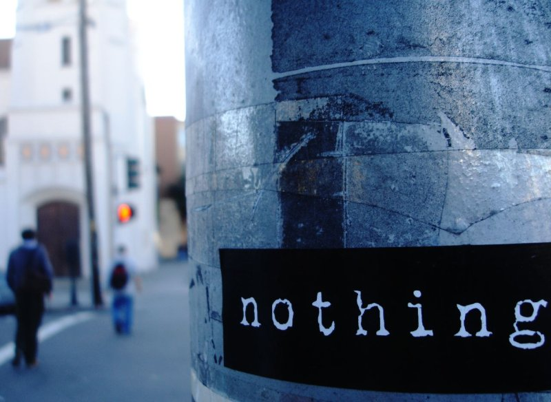 nothing is nothing