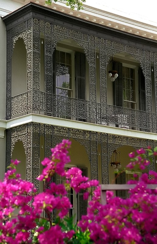 "New Orleans - Garden District ""Walter-Grinnan Robinson House - Cast Iron Balcony"""