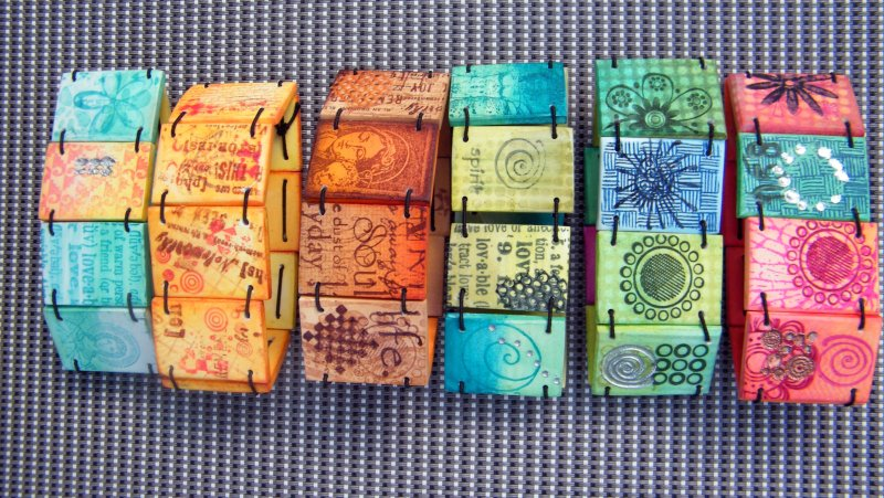 Stamping with Chalks workshop with Jana Lehmann