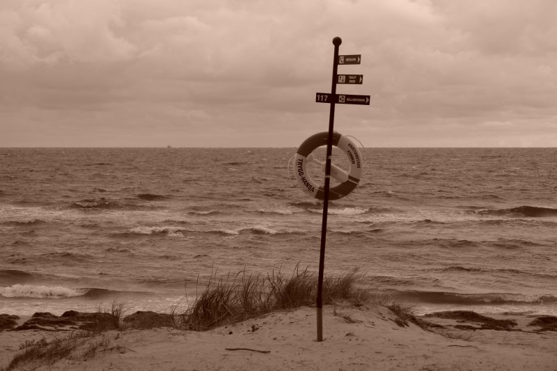 view of the baltic sea